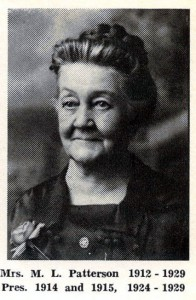 Mrs. ML Patterson