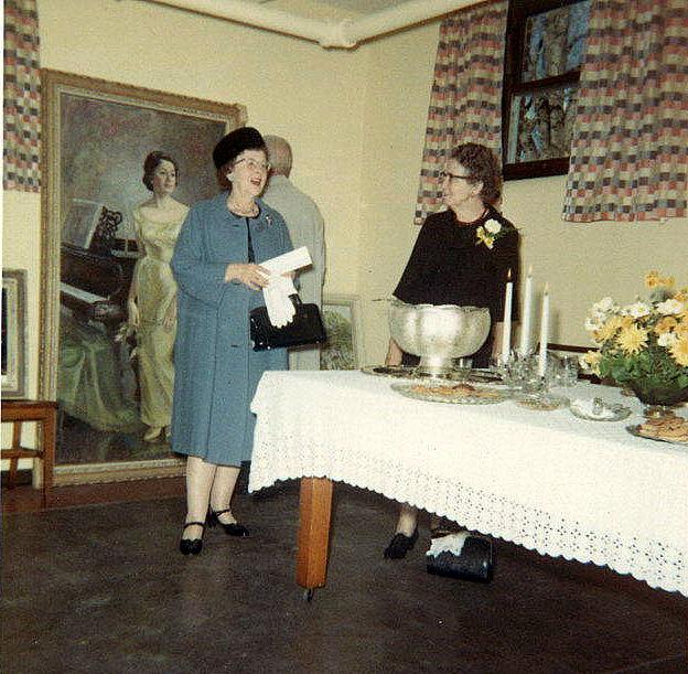 Mrs. Marjorie Frederick & Mrs. Fannie Moore