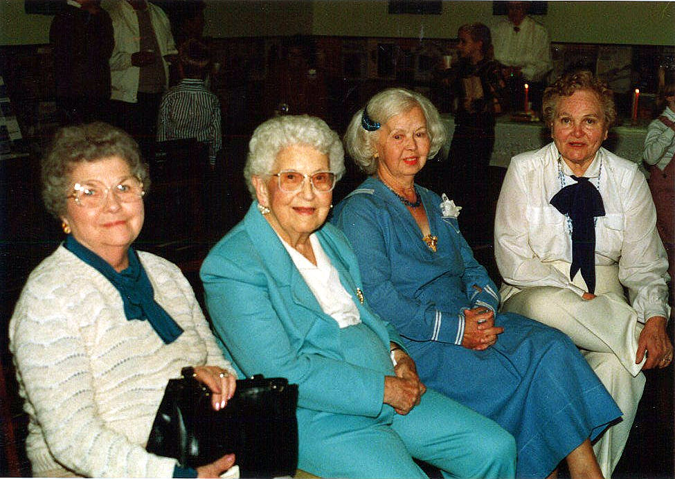 Lucille Meredith, Juanita Boswell, Dawn Sheets, Mary Lukens