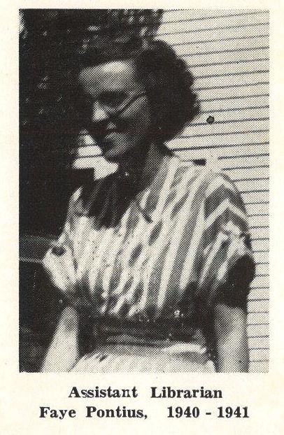 Faye Pontius 1940 - 1941