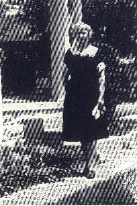 Dosia Dickerhoff Comer 1923 - 1937