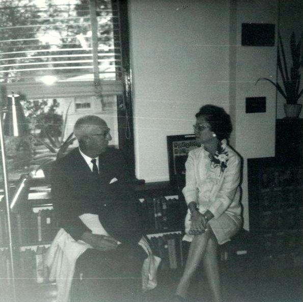Mr. Knarr and Mrs. Velma Bright