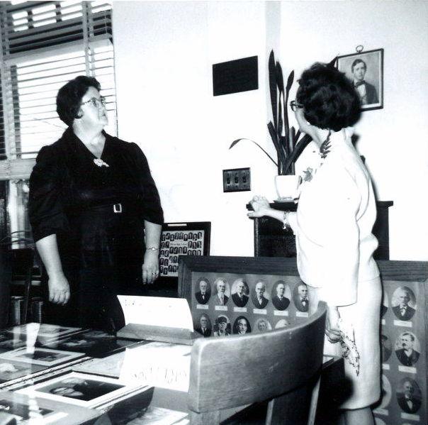 Mrs. Earl Floor & Miss Velma Bright