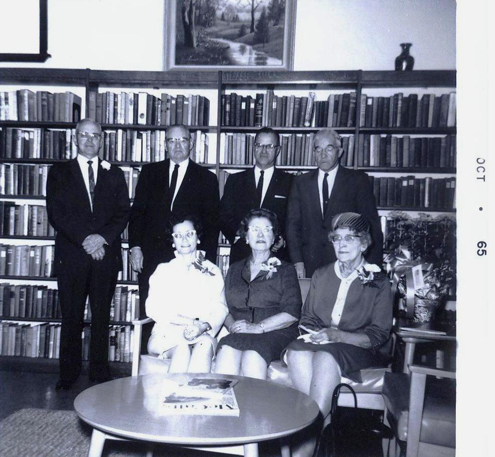 Library Director & Board