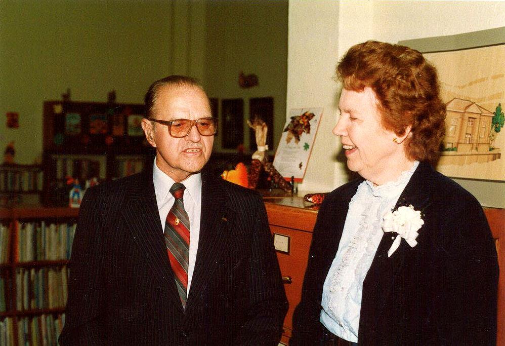 Ralph Rader & Gloria Bowen